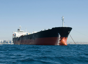 Oil Tanker with Double Hull